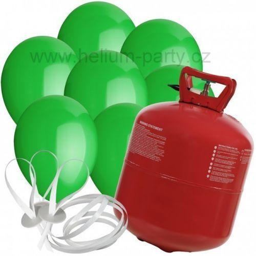 Worthington Industries EU Helium Balloon Time + 30 zelených balónků