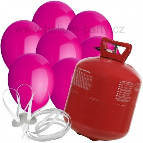 Worthington Industries EU Helium Balloon Time + 30 růžových balónků
