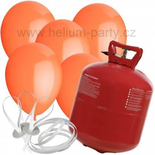 Worthington Industries EU Helium Balloon Time + 50 oranžových balónků cena od 1329 Kč