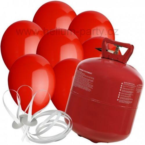 Worthington Industries EU Helium Balloon Time + 30 červených balónků