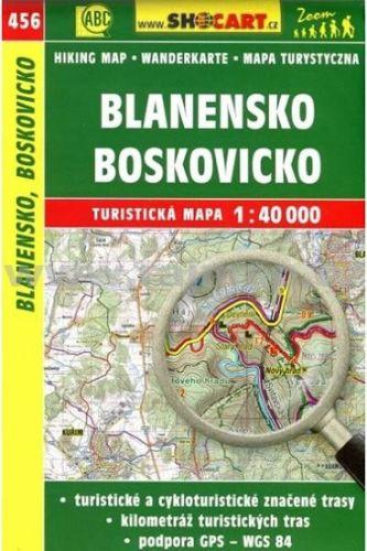 --- Neznámé nakladatelství --- CKM Blanensko Boskovicko 456 1:40T cena od 70 Kč