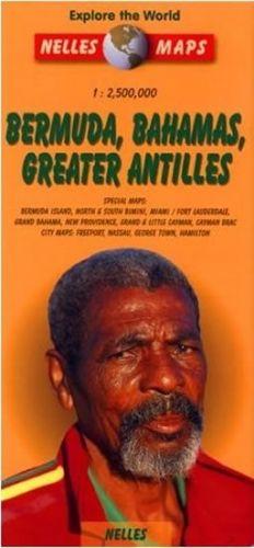--- Neznámé nakladatelství --- BERMUDA, BAHAMS, GREATER ANTILLE cena od 124 Kč