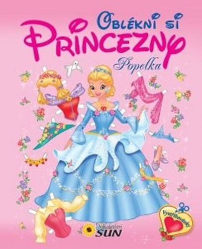 SUN Oblékni si princezny - Popelka cena od 63 Kč