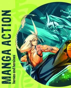 Loft Publications Manga Action Heroes and Heroines cena od 127 Kč