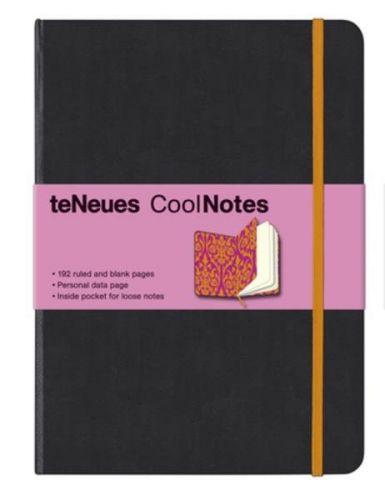 Zápisník CoolNotes Black/Victorian Orange velký cena od 0 Kč