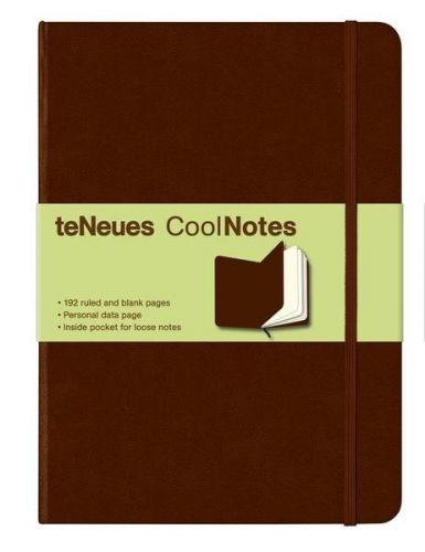 Zápisník CoolNotes Brown/Brown velký cena od 186 Kč