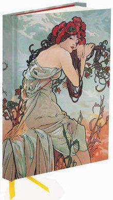 Flame Tree Publishing Co Ltd Zápisník Flame Tree Mucha Summer 1896 cena od 169 Kč
