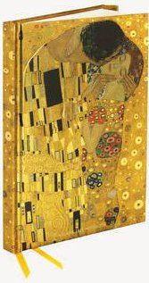 Zápisník Flame Tree Klimt Kiss cena od 169 Kč