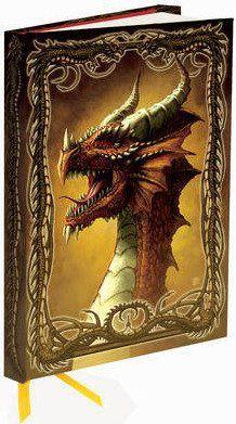 Flame Tree Publishing Co Ltd Zápisník Flame Tree Dragon - Red by Kerem Beyit cena od 169 Kč