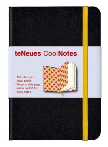 Zápisník CoolNotes Black Argyle Orange malý cena od 127 Kč