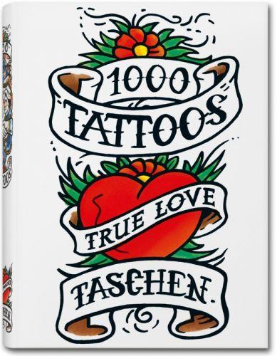 TASCHEN 1000 Tattoos cena od 224 Kč