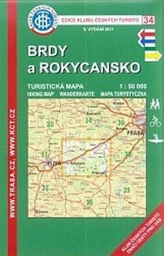 --- Neznámé nakladatelství --- Kčt 34 Brdy a Rokycansko cena od 89 Kč