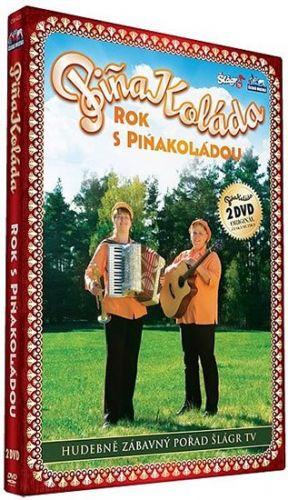 Piňa Koláda - Rok s Piňakoládou - 2 DVD cena od 160 Kč