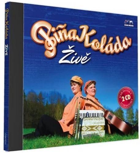 Piňa Koláda - Živě - 2 CD cena od 235 Kč