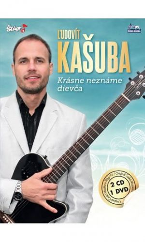 Ludovít Kašuba - Krásné neznáme dievča - 2CD+DVD cena od 350 Kč