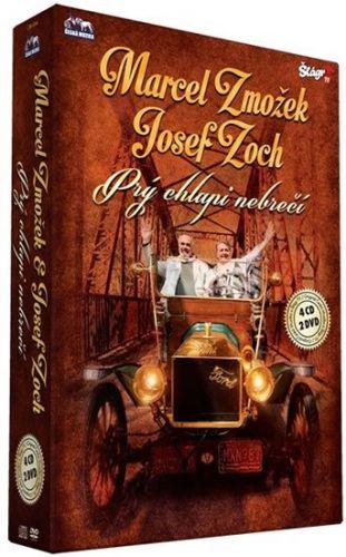 Zmožek Marcel a Zoch Josef - Prý chlapi nebrečí - CD+DVD