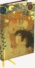 Flame Tree Publishing Co Ltd notebook Klimt - Three Ages of Woman cena od 169 Kč