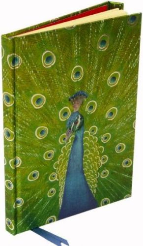 Flame Tree Publishing Co Ltd Zápisník Flame Tree Peacock in Blue & Green cena od 169 Kč