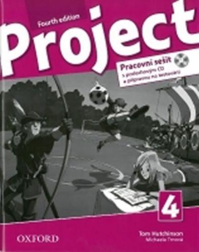 Hutchinson, Trnová, Tom Hutchinson, Janet Hardy-Gould: Project Fourth Edition 4 Pracovní sešit s poslechovým CD a přípravou na testování cena od 205 Kč