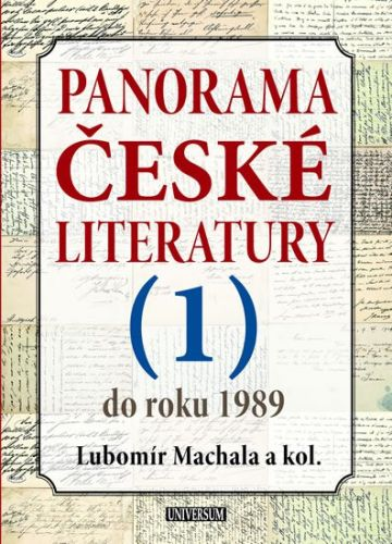 Panorama české literatury 1 cena od 399 Kč