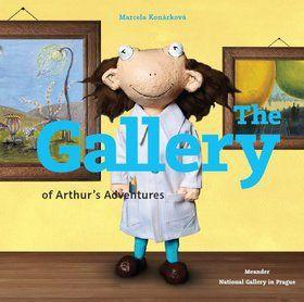Marcela Konárková: The Gallery of Arthur´s Adventures cena od 456 Kč