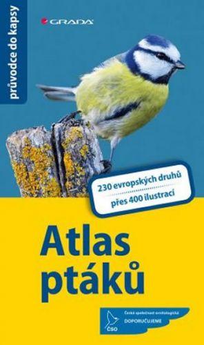 Hecker Katrin, Hecker Frank: Atlas ptáků - 230 evropských druhů, více než 400 fotografií a ilustrací cena od 235 Kč