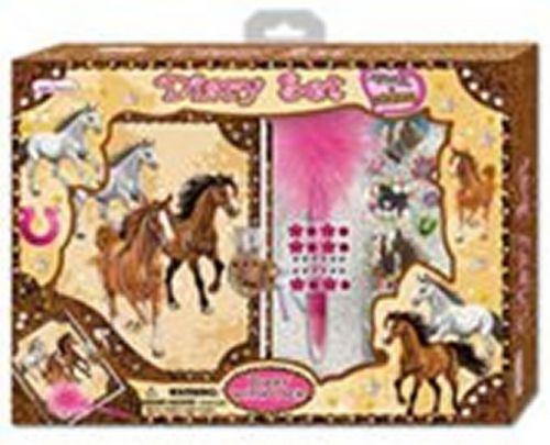 Velký set s diářem - koně cena od 324 Kč
