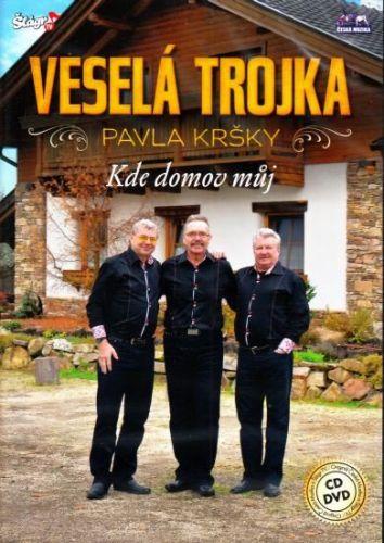 Veselá Trojka - Kde domov můj - CD+DVD cena od 305 Kč