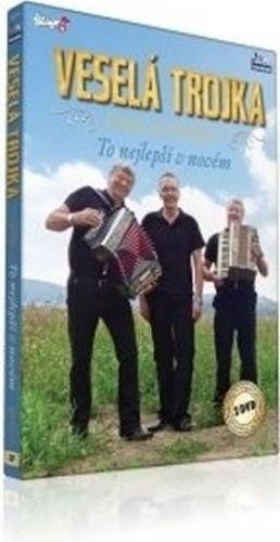 Veselá Trojka - To nejlepší v novém - 2 DVD cena od 271 Kč