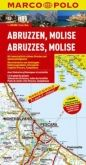 Itálie č. 10-Abruzzen,Molise/mapa1:200T MD cena od 140 Kč