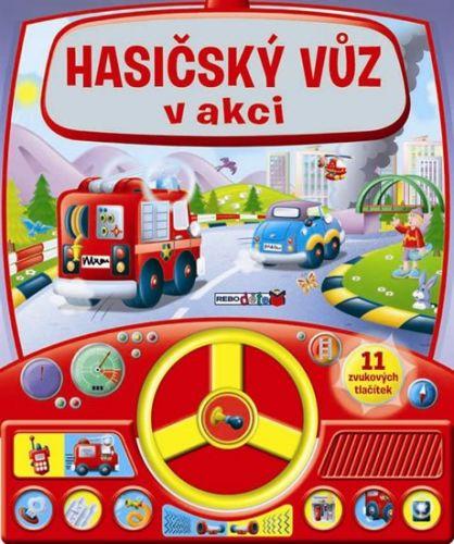 REBO Hasičský vůz v akci cena od 201 Kč