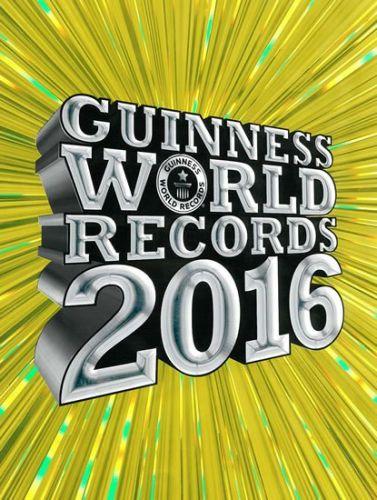 Guinness World Records 2016 - nové rekordy cena od 367 Kč