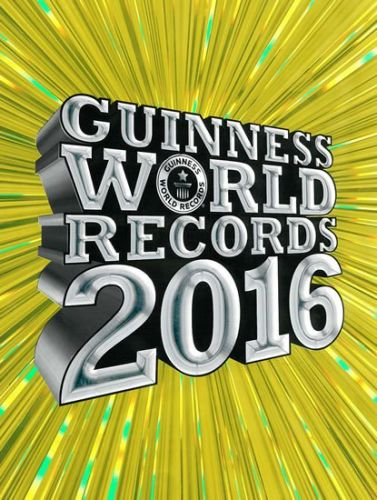 XXL obrazek Guinness World Records 2016