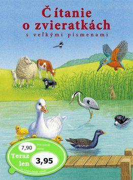 Svojtka Čítanie o zvieratkách s veľkými písmenami cena od 75 Kč