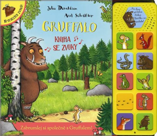 Julia Donaldson: Gruffalo - kniha se zvuky cena od 238 Kč
