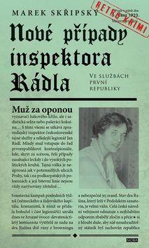 Marek Skřipský: Nové případy inspektora Rádla - Muž za oponou cena od 199 Kč