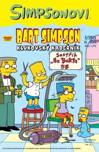 Matt Groening: Bart Simpson 2015/5: Klukovský kadeřník cena od 29 Kč