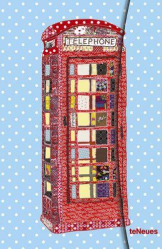 Zápisník Patchwork Telephone Box malý cena od 169 Kč