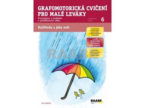 Ivo Vodička, Ladislava Linajová: Grafomotorická cvičení pro malé leváky - Pracovní sešit 6 cena od 42 Kč