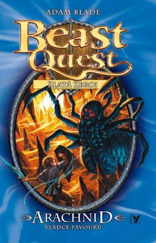 Adam Blade: Arachnid, vládce pavouků cena od 105 Kč