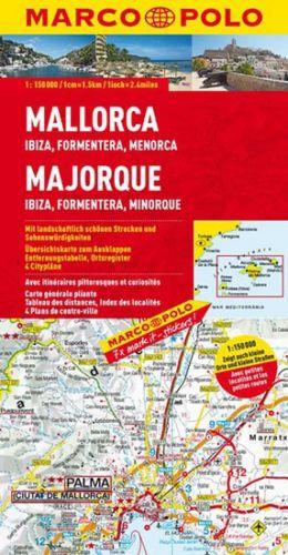 Španělsko-Mallorca/Ibiza/Formentera 150T MD cena od 146 Kč