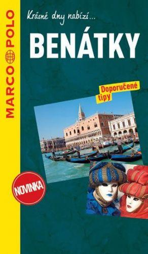 Benátky průvodce na spirále s mapou MD cena od 199 Kč