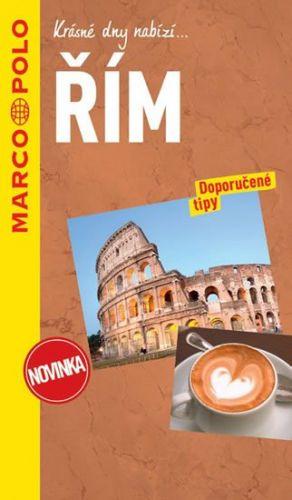 Řím / průvodce na spirále s mapou MD cena od 197 Kč