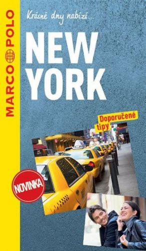 New York / průvodce na spirále s mapou MD cena od 197 Kč