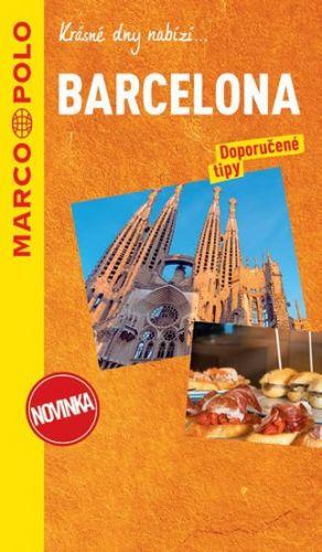Barcelona / průvodce na spirále s mapou MD cena od 196 Kč