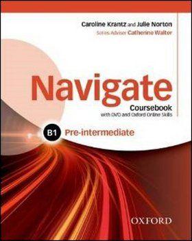 C. Krantz, J. Norton: Navigate Pre-intermediate B1 cena od 630 Kč