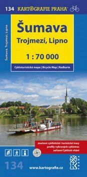 Kartografie PRAHA Šumava Trojmezí, Lipno 1:70 000 cena od 59 Kč