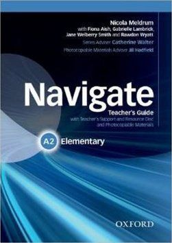 R. Appleby: Navigate Elementary A2 cena od 565 Kč
