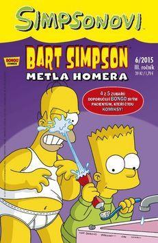 Matt Groening: Bart Simpson 2015/6: Metla Homera cena od 23 Kč