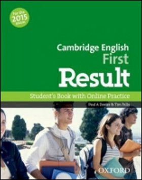 P.A. Davies, T. Falla: Cambridge English First Result Student´s Book with Online Practice Test cena od 489 Kč